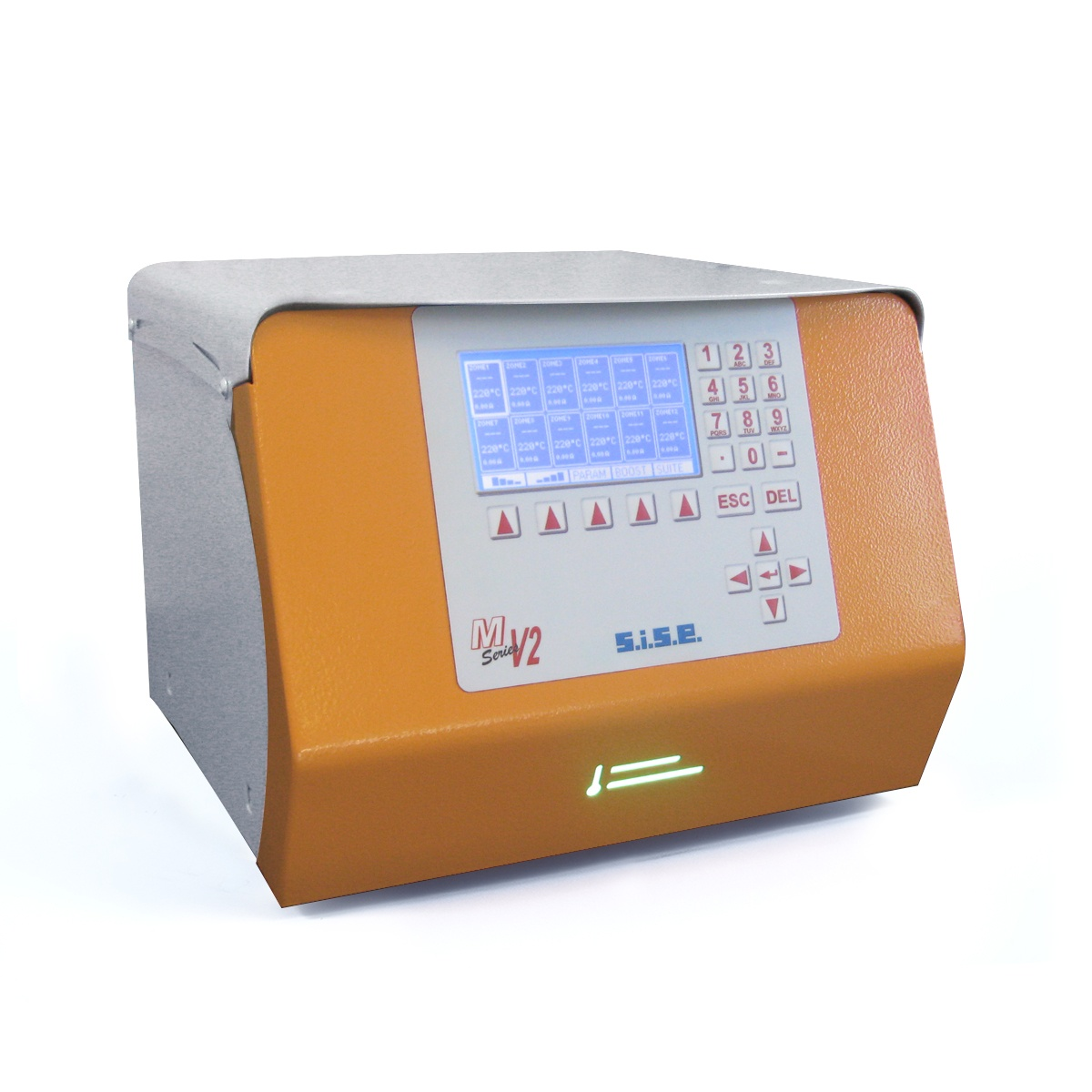 Multizone Hot Runner Temperature Controller SISE MV2 Type XS-LCD