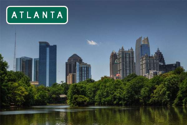 Atlanta city USA
