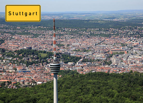 Stuttgart city Germany